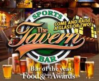 The tavern sports bar